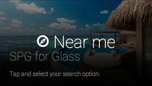 Starwood's Google Glass app